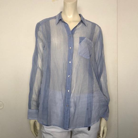 NWT  women s boyfriend button down shirt 166019dcb2